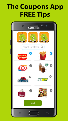 The Coupons App FREE TipsThe Coupons App is a 1 site
