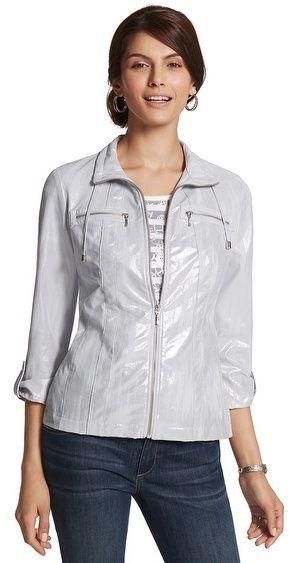 Chico's Zenergy Neema Foil Bay Jacket on shopstyle.com