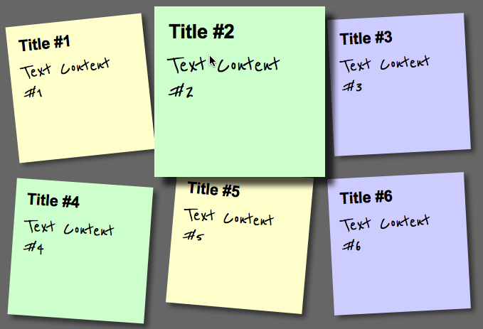 Create a Sticky Note Effect in 5 Easy Steps with CSS3 and HTML5