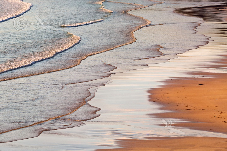 Luskentyre , evening tide. Isle of Harris. Scotland. Highlands and Islands.