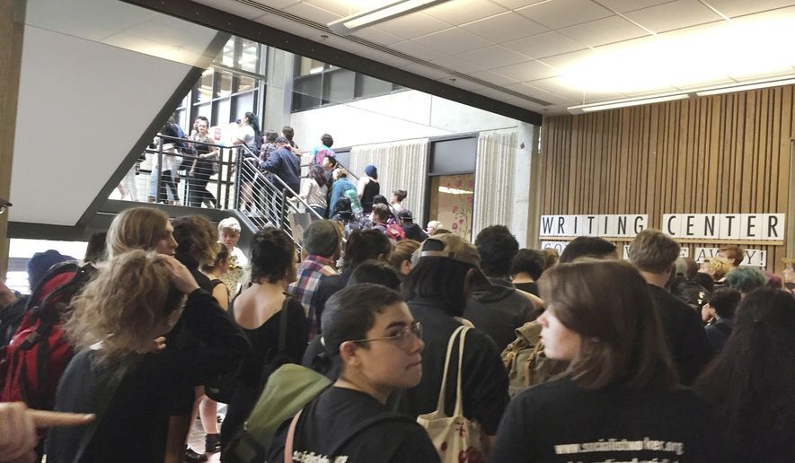 Evergreen State College, racked by racism, shuts over threat