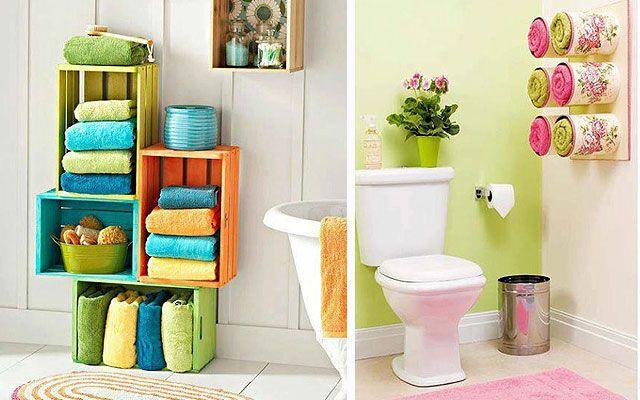 Decofilia blog ideas para almacenaje en ba os - Decoraciones de cuartos de bano ...