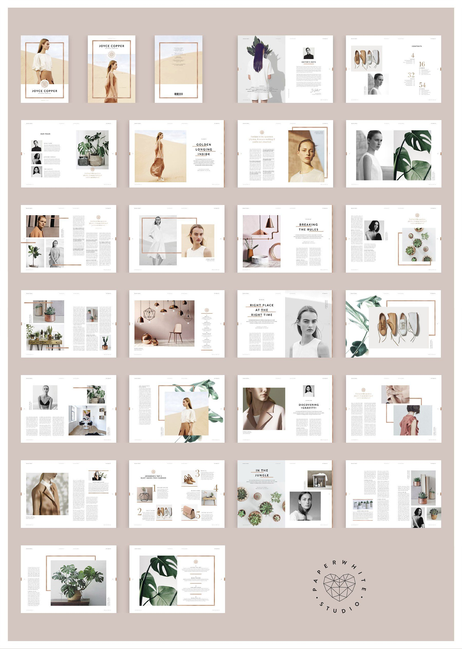 JOYCE Copper Magazine | Katalog, Magazin und Fotos