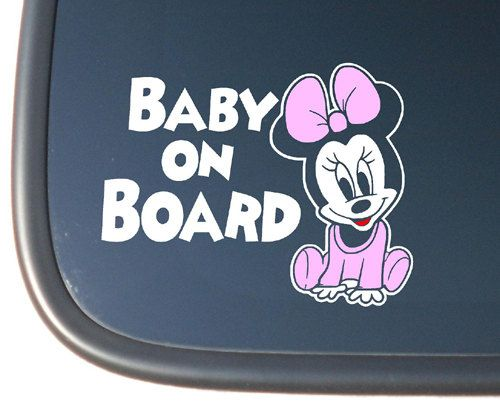 BABY BOY BABY GIRL BABY CHILD ON BOARD SIGN WINNIE THE POOH CAR WINDOW SIGN