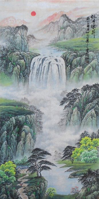 Mountain Painting Modern Art Famous Artists Chinese Landscape Painting