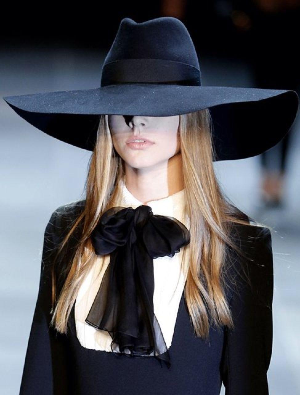 Saint Laurent Fashion Hat Fashion Fashion Week