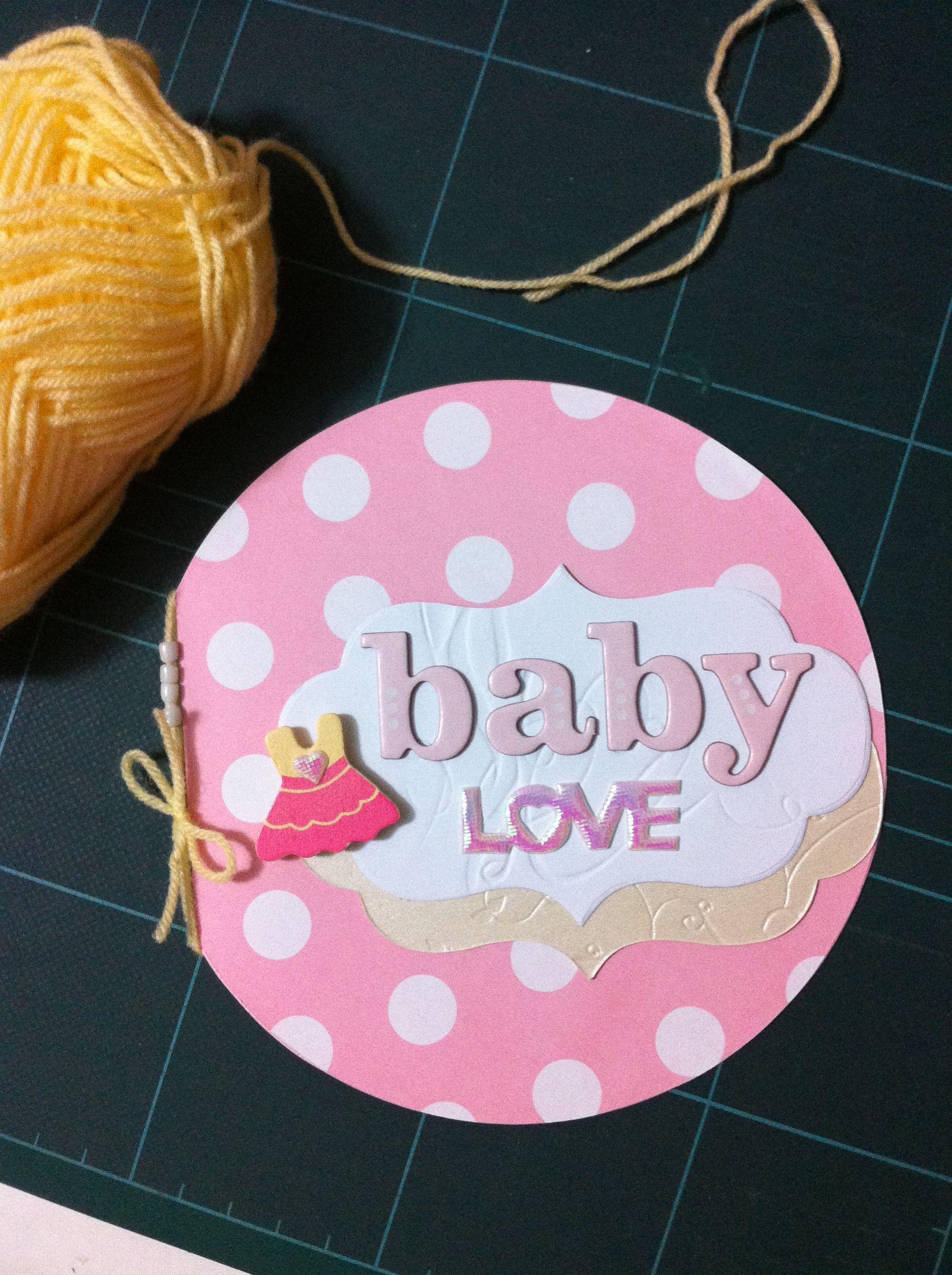 baby love card  inspirational cards cards handmade love