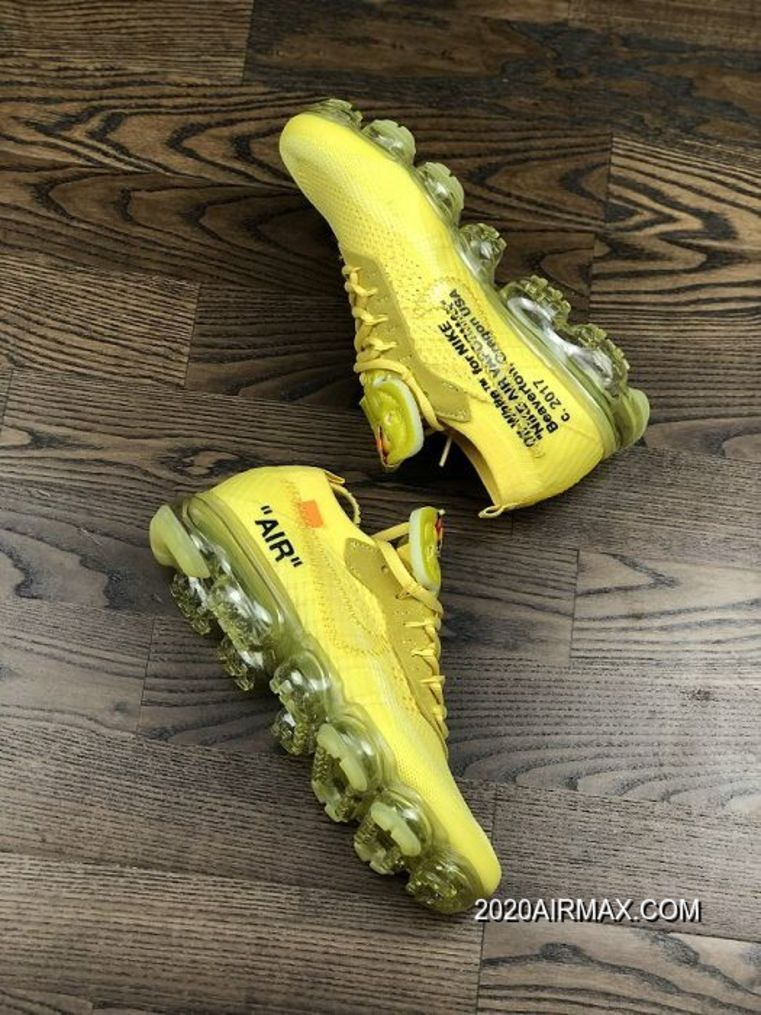 Men OFFWHITE X Nike Air VaporMax Running Shoes SKU139323
