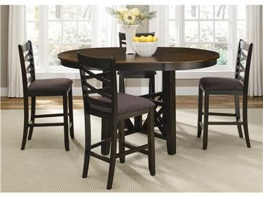 Liberty Furniture Bar And Game Room Gathering Table Top 74gt4866 At Furnitureland At Pedestal Dining Table Dining Table In Kitchen Counter Height Dining Table