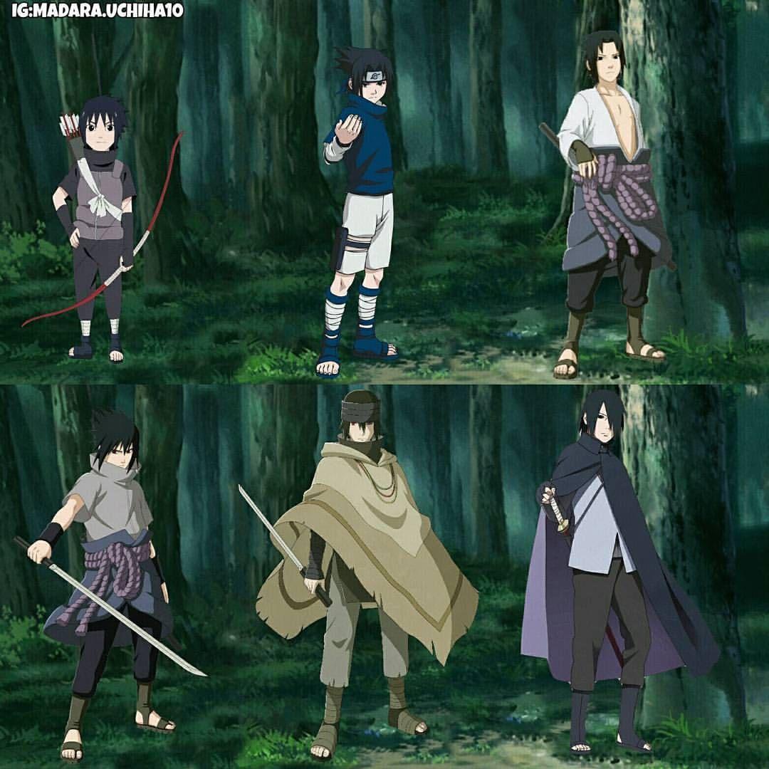 Sasuke_evolution