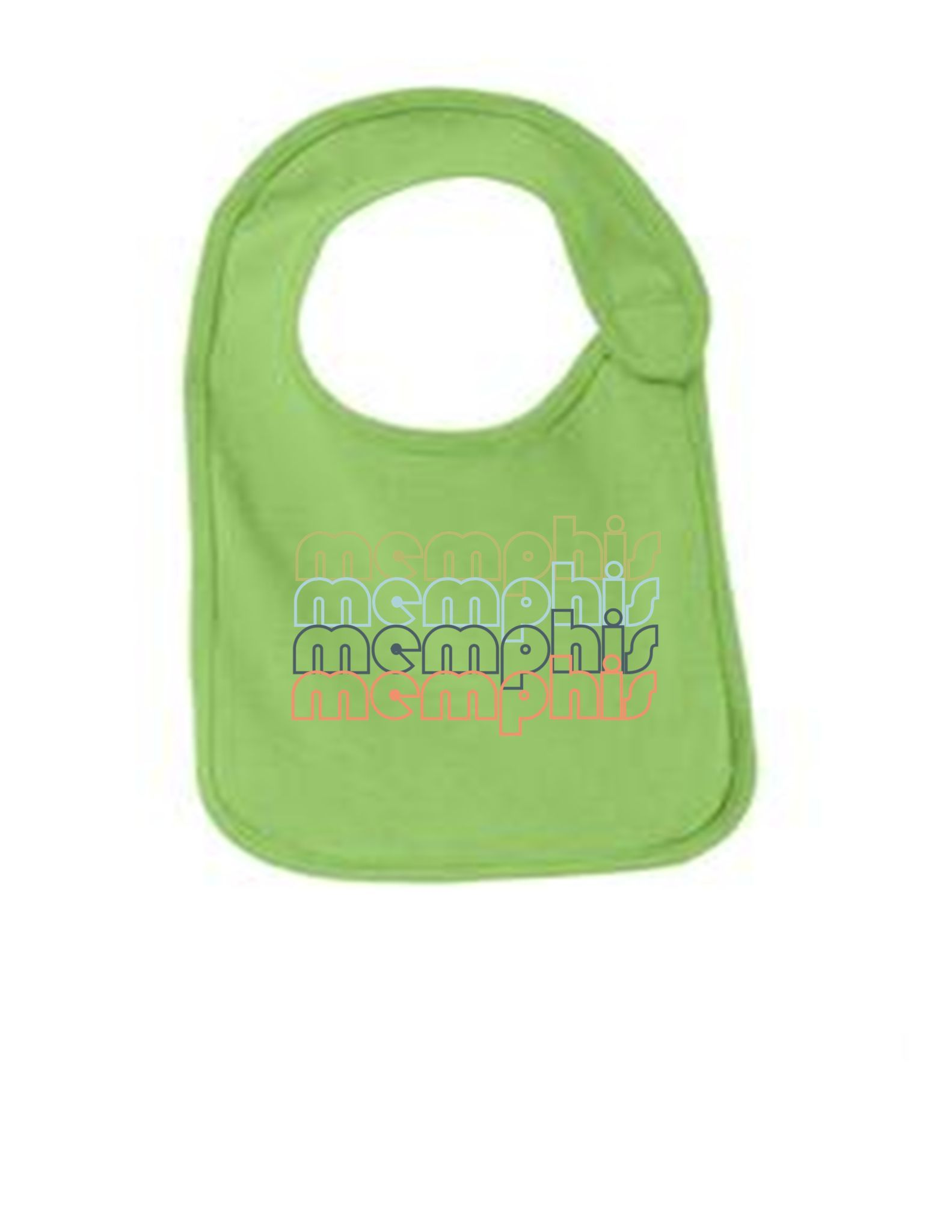 Memphis-Tennessee-Retro-Funny-Infant-Jersey-Bib Have fun with your future grown ups. These are adorable bibs, sure to bring a smile to everyone. Super Soft Jersey Cotton!