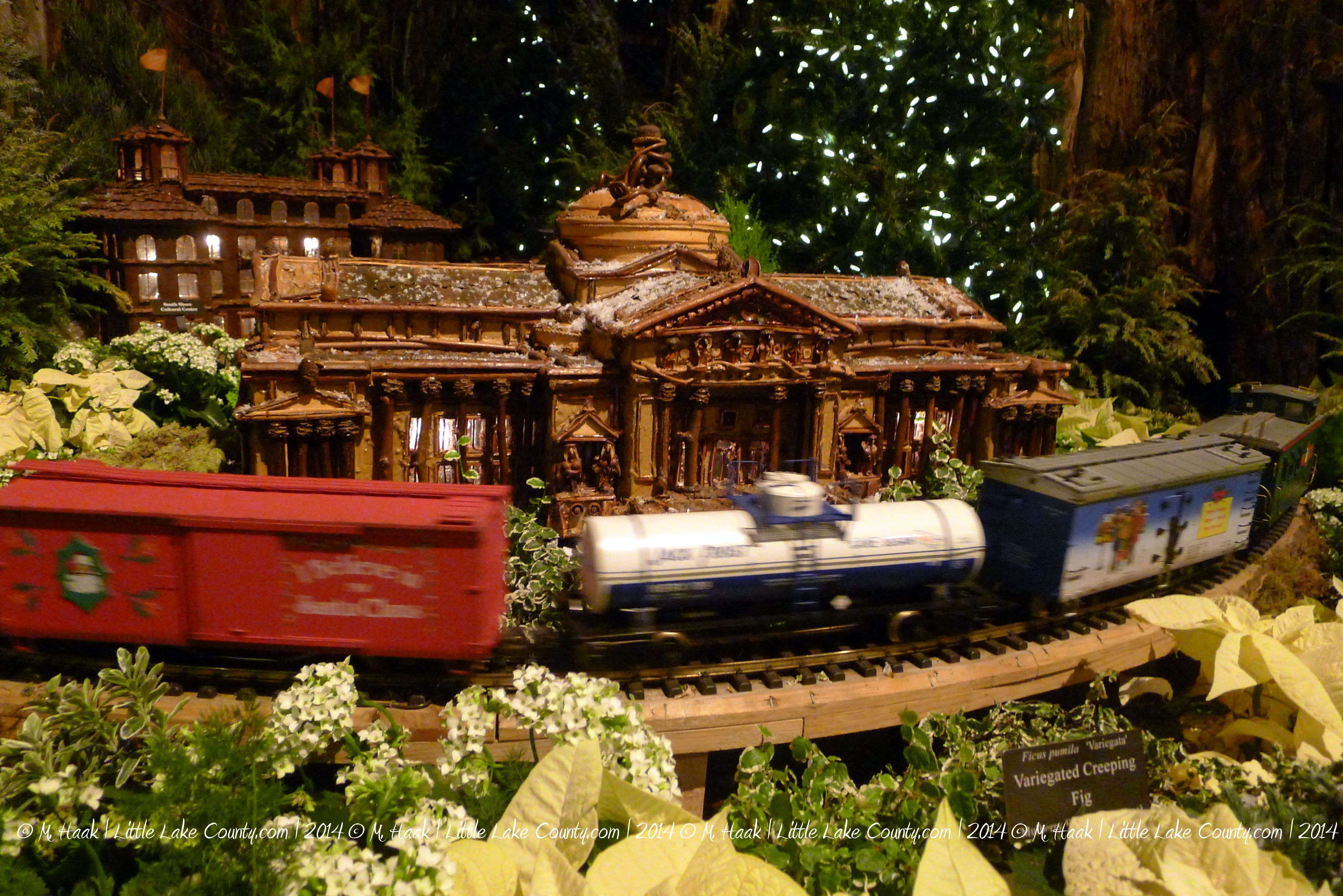 Wonderland Express Now Open at Chicago Botanic Garden | Chicago ...