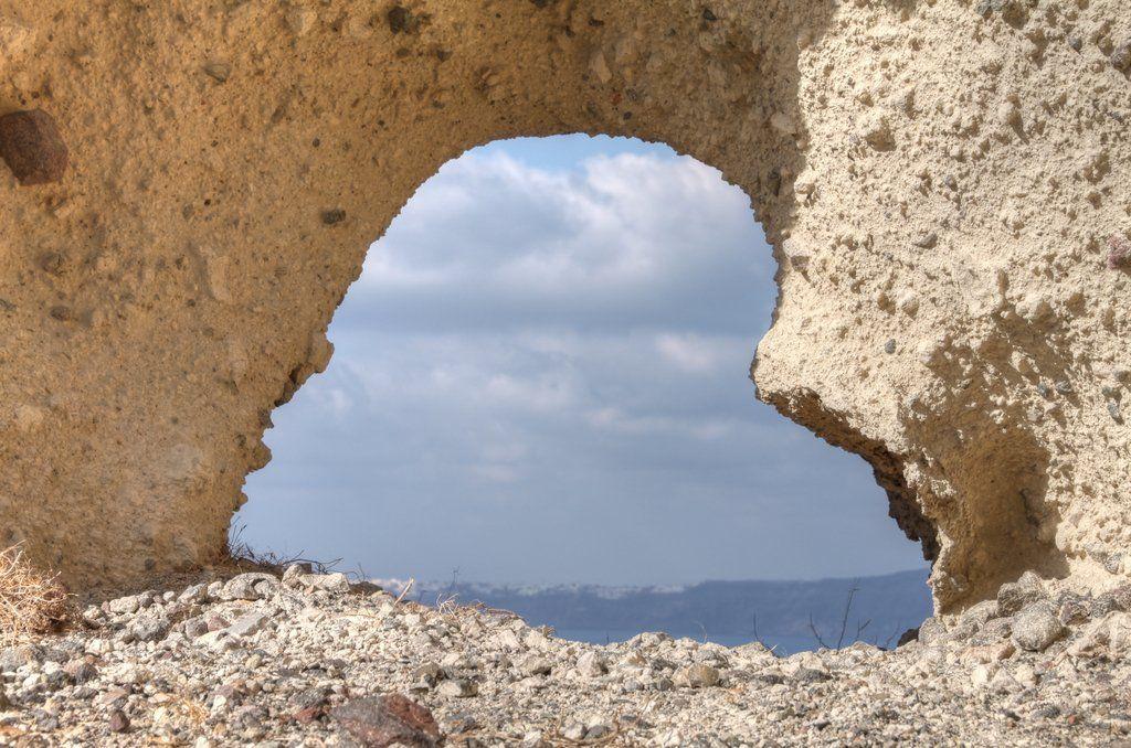 Santorini #hearts
