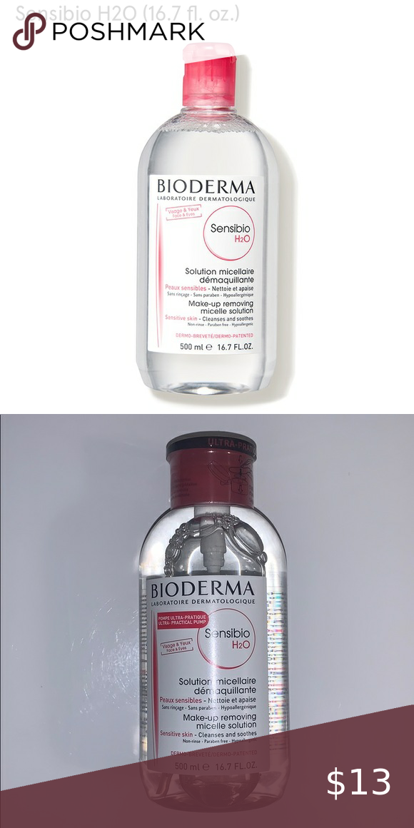 Bioderma sensibilo make up removing solution in 2020