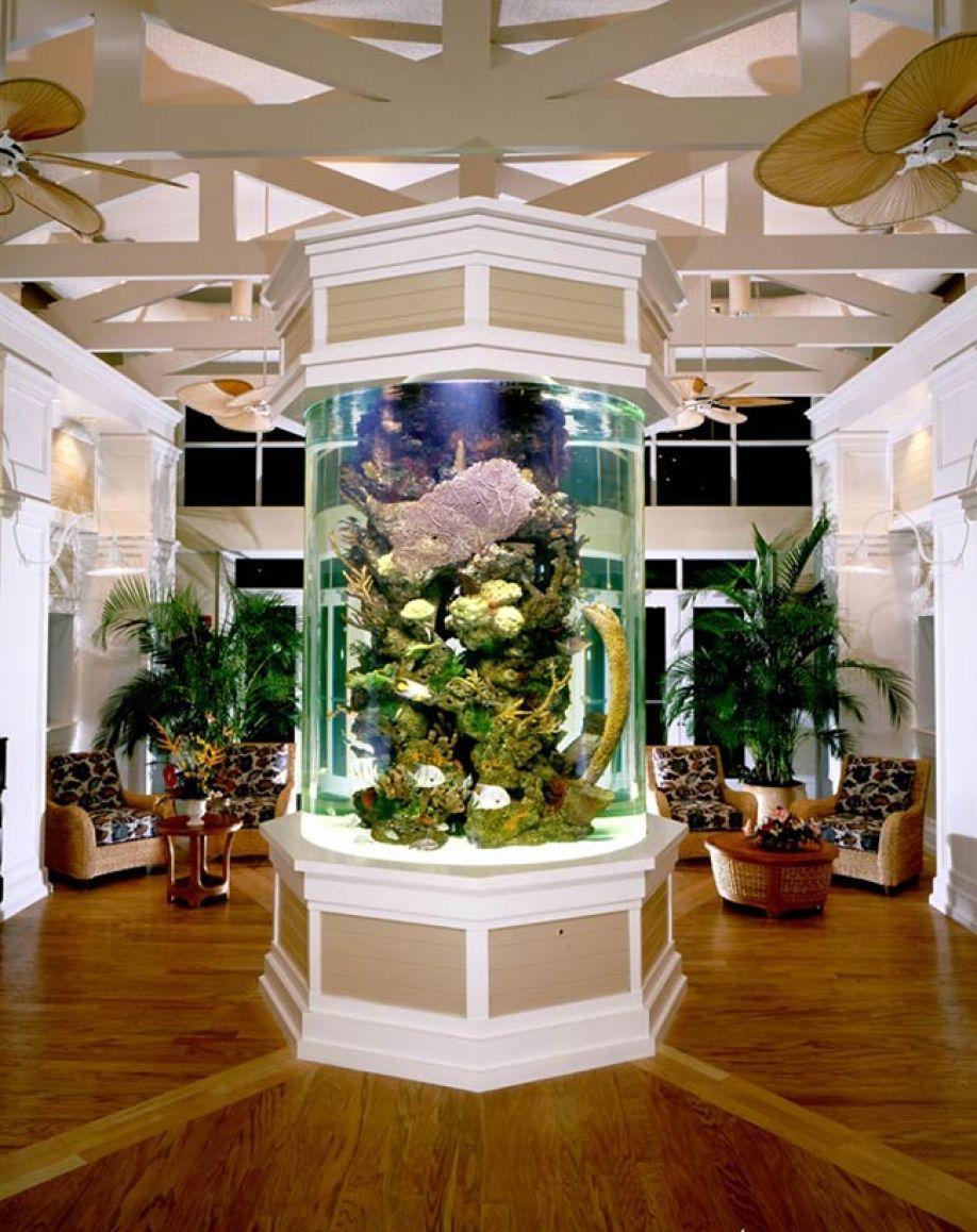 Супер-большой #аквариум для дома или офиса. Закажите в #dengl.ru