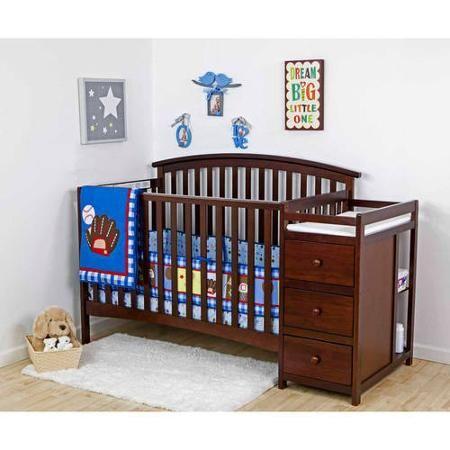 Baby Convertible Crib Cribs Crib With Changing Table
