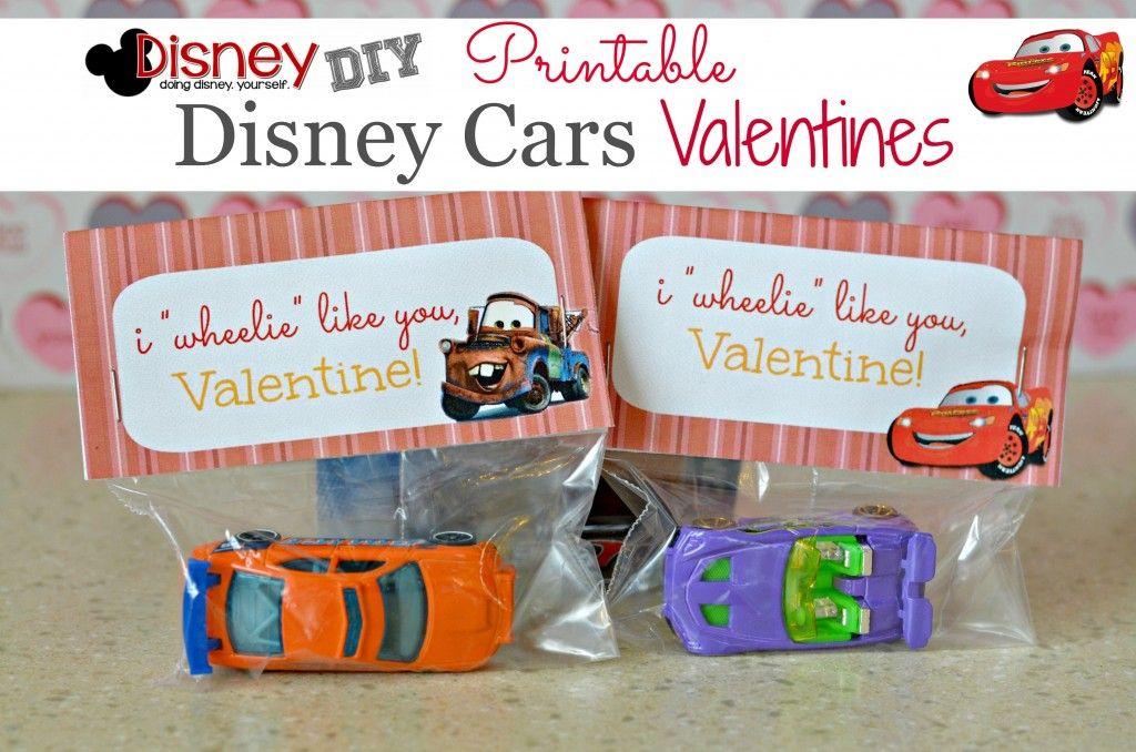 Valentine S Day Crafts For Kids I Wheelie Like You Disney Cars Boys Valentines Idea
