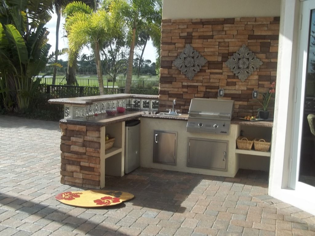 Outdoor kitchen ideas on a budget intended for encourage with regard
