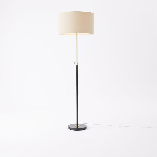 A skinny floor lamp for next to desk would be nice this drum shade a skinny floor lamp for next to desk would be nice this drum shade might be too much though aloadofball Choice Image