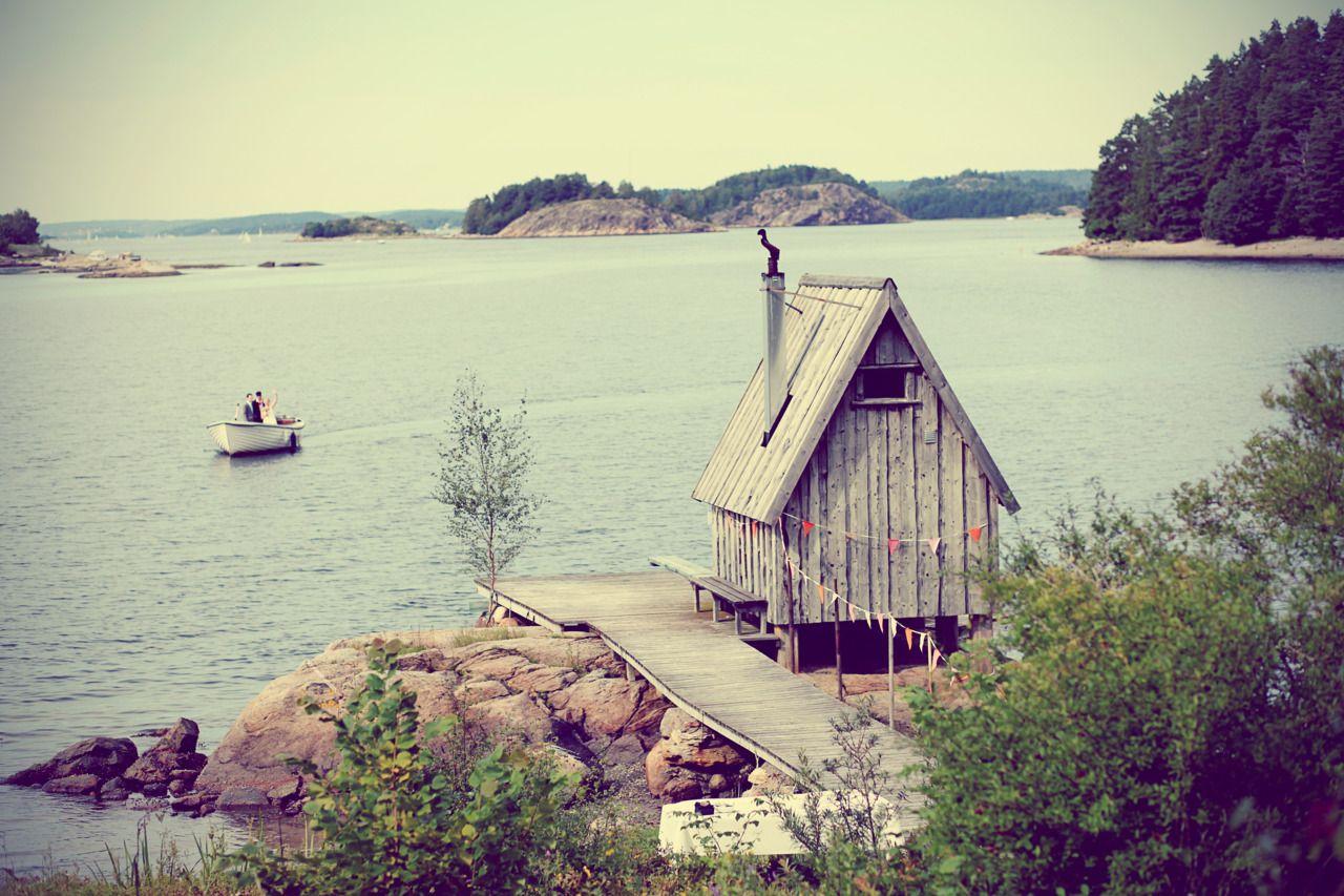 Swedish cabin porn