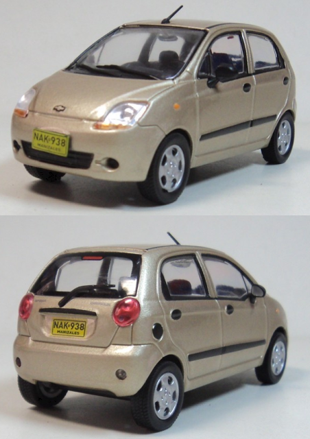1:43 Scale Model of Chevrolet Spark  Want to see more detail