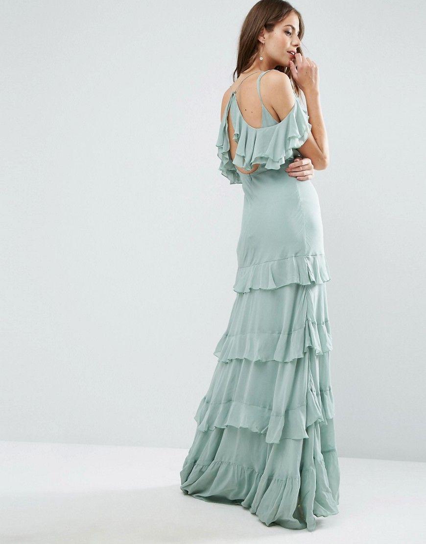 eef43946f57 Image 2 of ASOS Ruffle Tiered Maxi Dress