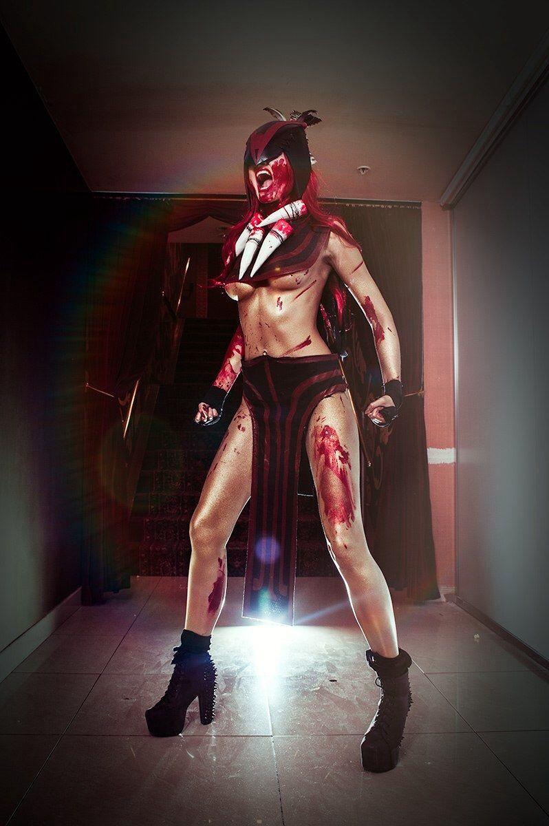 Bloodseeker cosplay Dota2 by MrProton | DOTA 2 | Pinterest ...