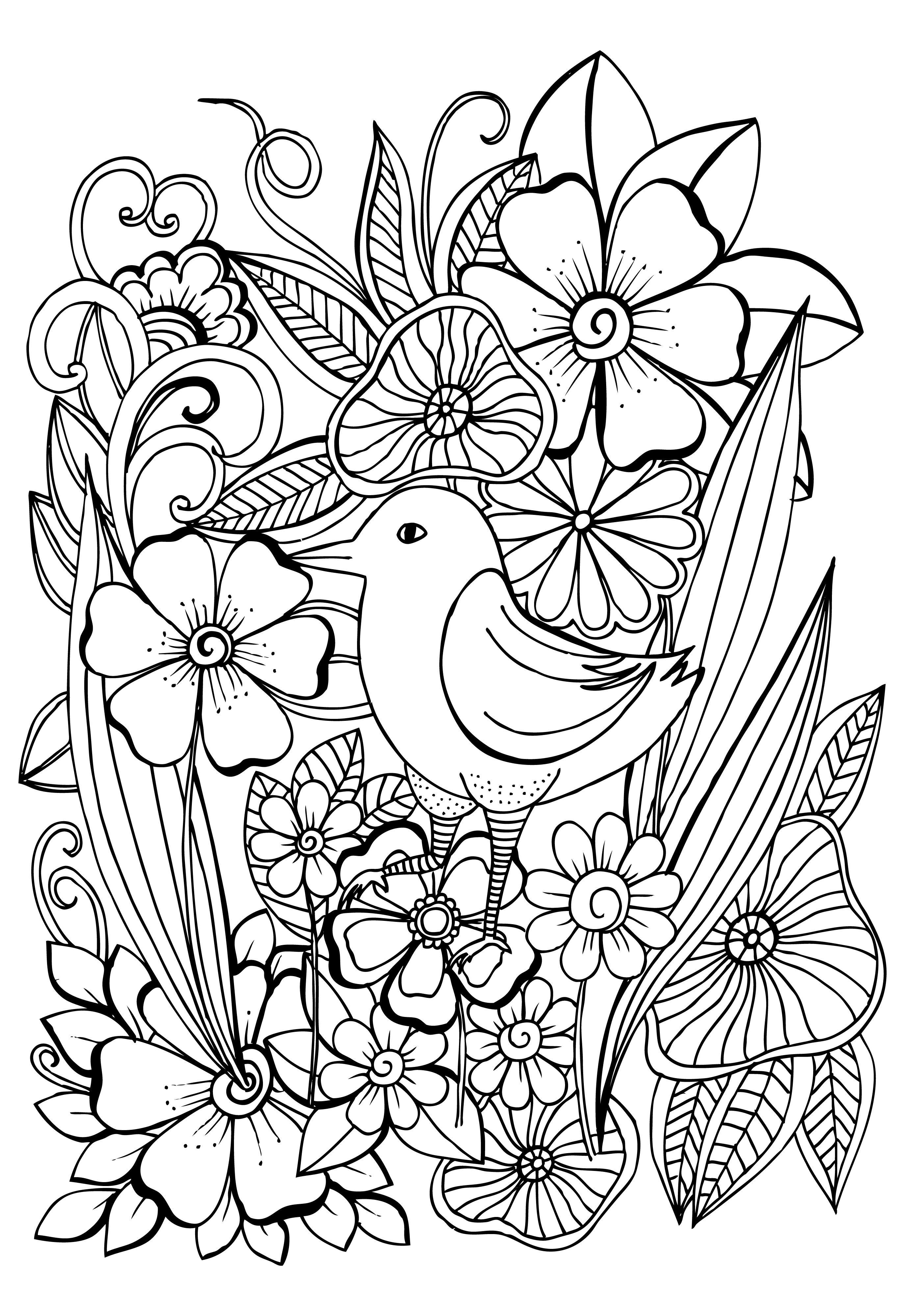 Cvetochnye Uzory Flower Pattern Background White And Black Floral Doodles 51 Fajlov Knizhka Raskraska Raskraski Konturnye Risunki