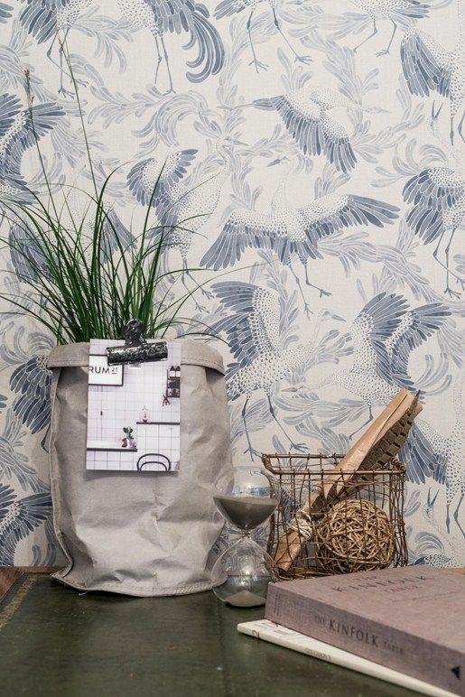 Emma von Brömmsens magiska tapeter hos Eco Wallpaper