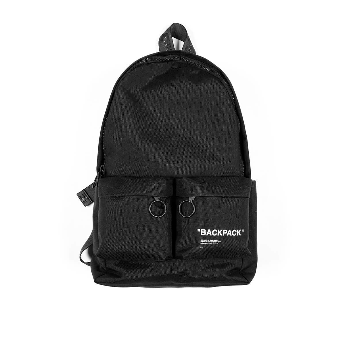ddcb8a6e8b474b Quote backpack from the Pre-Fall 2018 Off-White c/o Virgil Abloh ...
