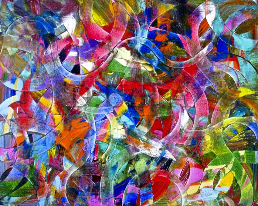 Abstract Art by DURA Another great abstract piece. I love the ...