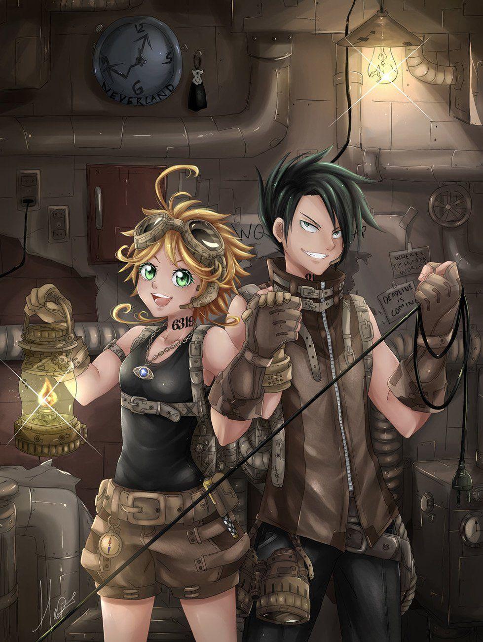مانجا The Promised Neverland الفصل 56 مترجم مانجا اون لاين Neverland Anime Chapter 55