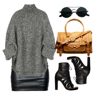 Michael Kors Wool-blend oversized sweater by thestyleartisan