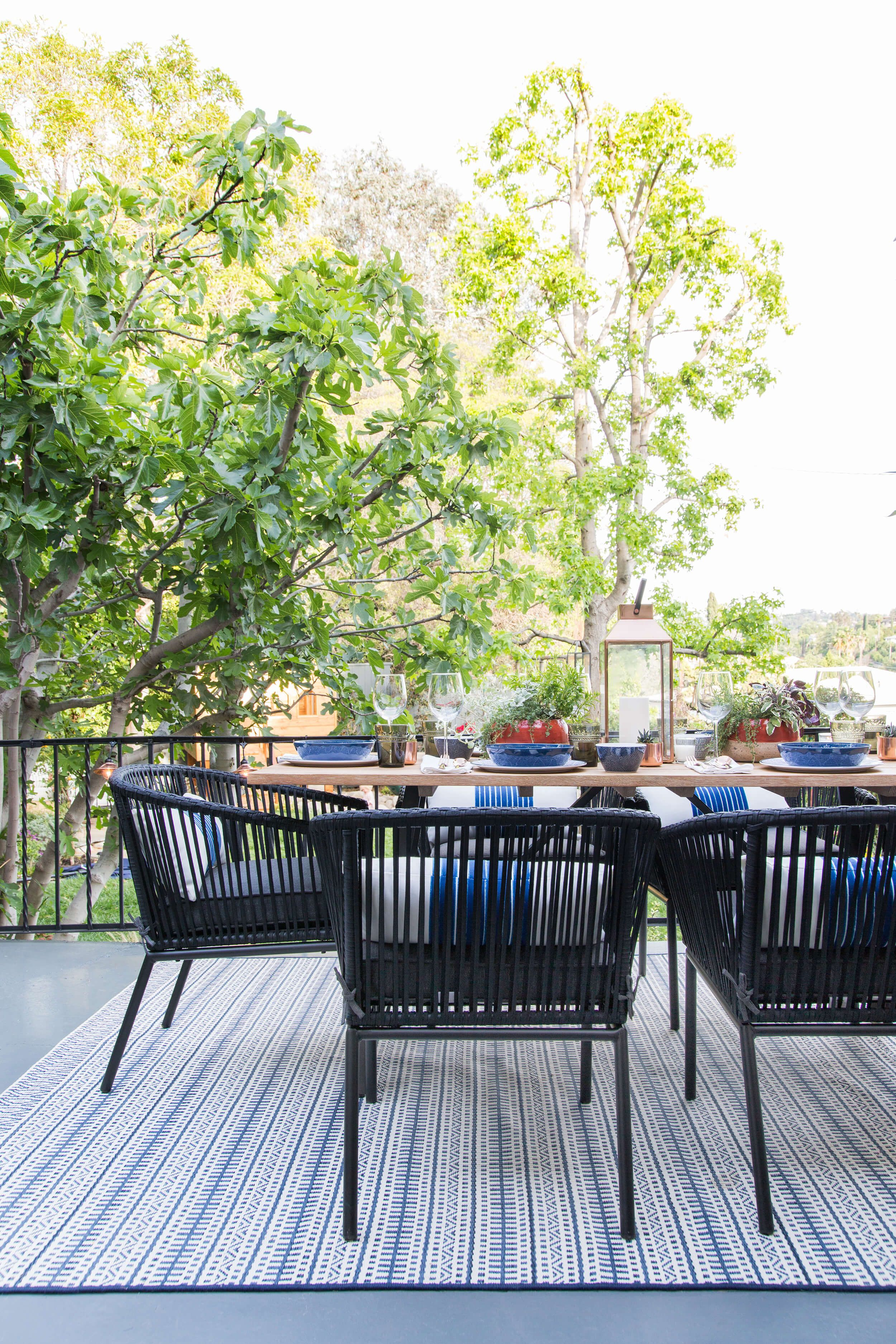 How To Decorate Your Outdoor Space With Target Shop The Look Emily Henderson Outdoor Furniture Outdoor Outdoor Patio Furniture