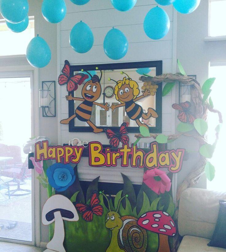 Biene Maja-Kids Party Birthday Balloons Balloons 6 Piece