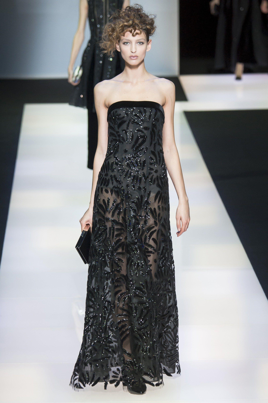 Giorgio Armaninin Couture ilkbahar Yaz 2017 Koleksiyonu