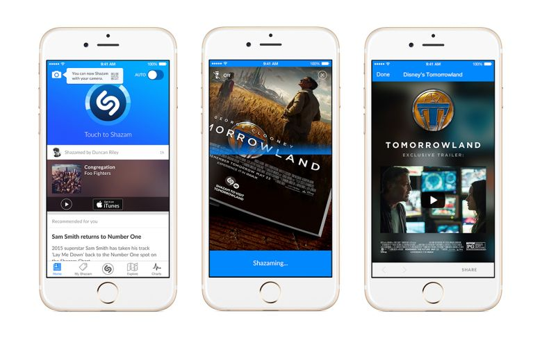 Shazam adds visual recognition to its music discovery app