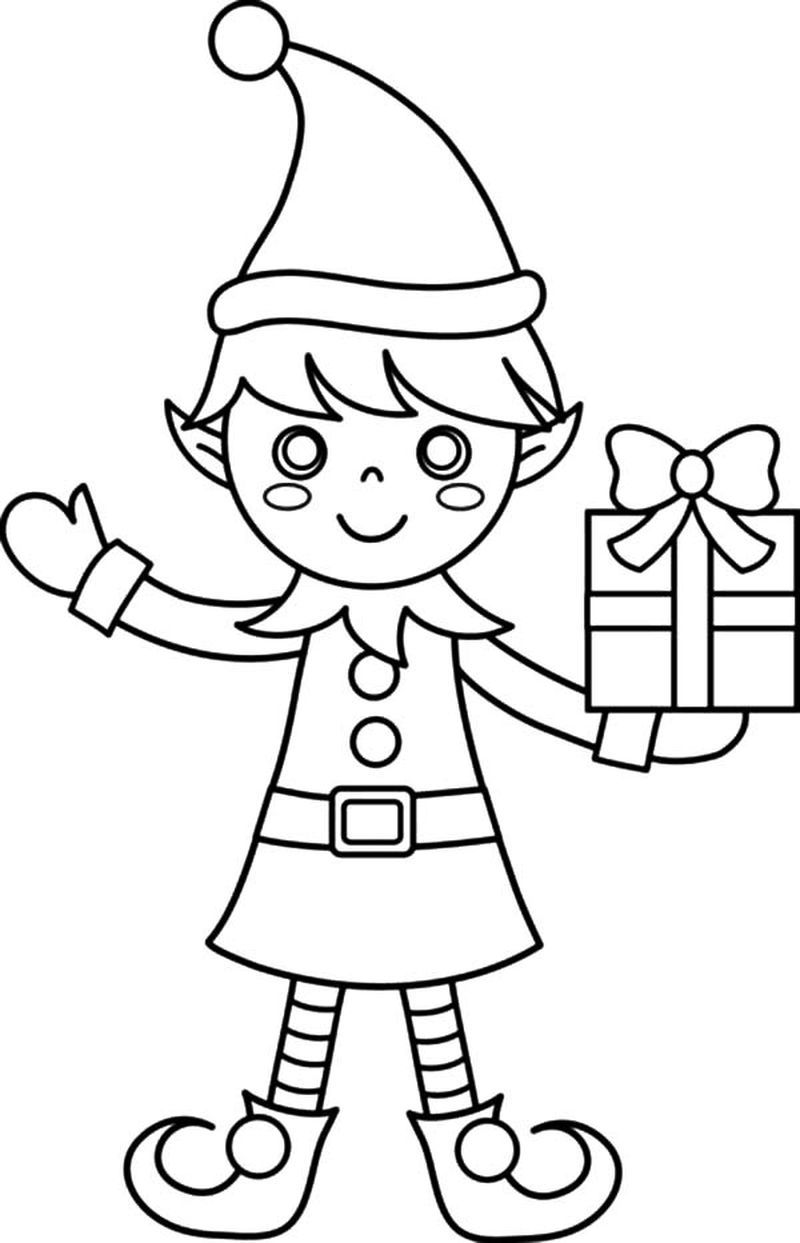 Elf Coloring Pages Printable Free Coloring Sheets Printable Christmas Coloring Pages Christmas Coloring Sheets Free Christmas Coloring Pages