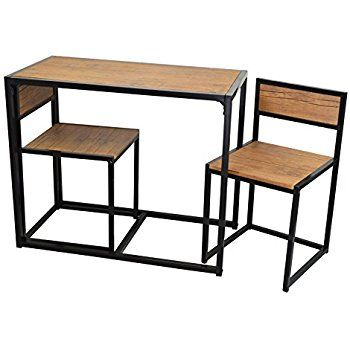 Amazing Harbour Housewares 2 Person Space Saving, Compact, Kitchen Dining Table U0026  Chairs Set