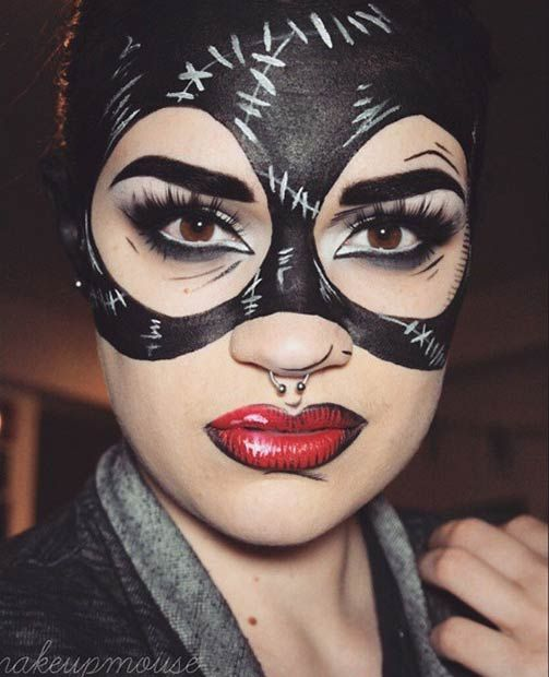 Catwoman Halloween Makeup : catwoman, halloween, makeup, Jaw-Dropping, Halloween, Makeup, Ideas, StayGlam, Makeup,, Superhero, Costumes