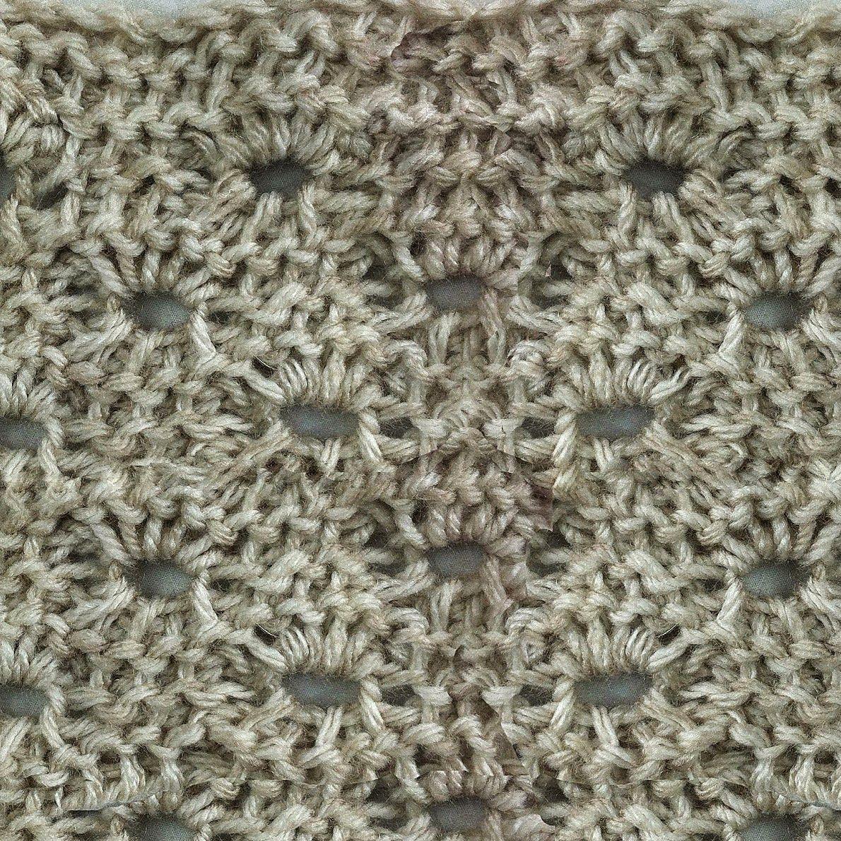 My Tunisian Crochet: Tunisian Crochet Beehive Pattern   Tunisian ...