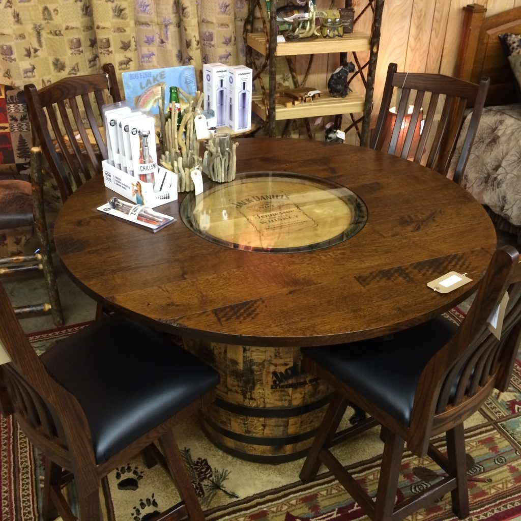Jack Daniels Whiskey Barrel Coffee Table | http://therapybychance ...