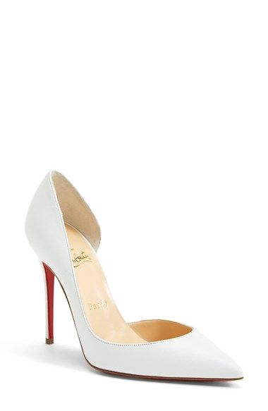bbf668529e8 Christian Louboutin 'Iriza' d'Orsay Pump, | shoes | Louboutin shoes ...