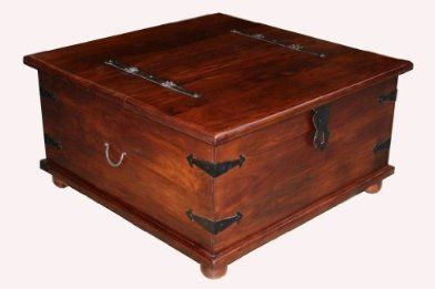 Takhat Large Square Coffee Table Trunk Large Square Coffee Table