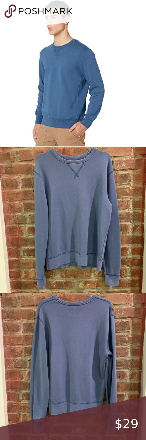 J Crew Garment Dyed Terry Crewneck Sweatshirt S Garment Dye Crew Neck Sweatshirt Long Sleeve Tshirt Men [ 1740 x 580 Pixel ]