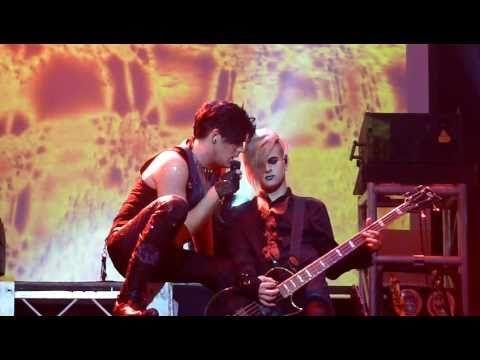 Adam Lambert Kissing Tommy Joe Ratliff Amsterdam Paradiso 20 11