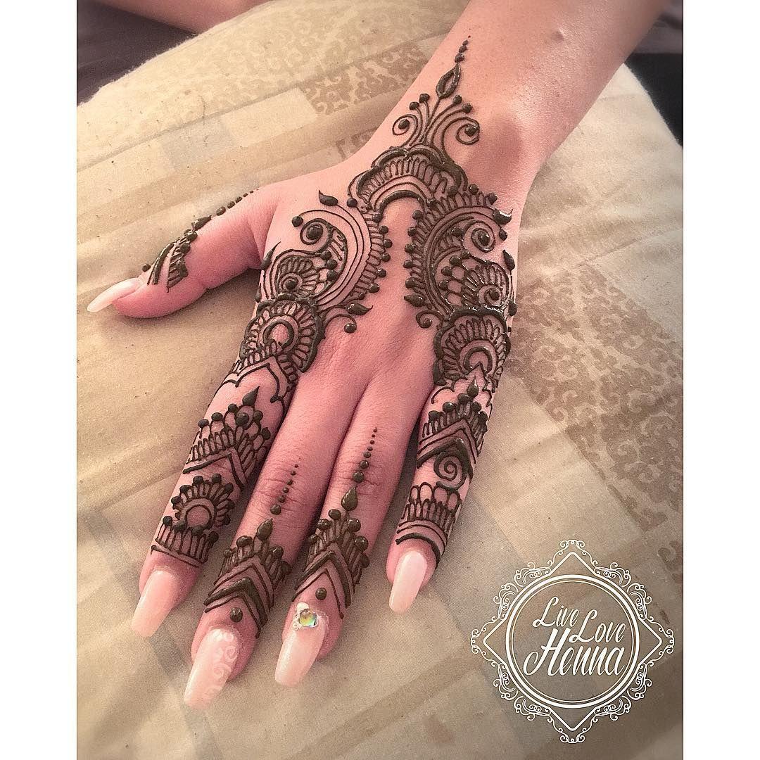 Live love henna on instagram  cmedium party design for bride   sister one of original patterns also best beauti mahendi images in desenhos de rh br pinterest