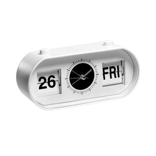 Symple Stuff Desk Clock Desk Clock Flip Alarm Clock Clock