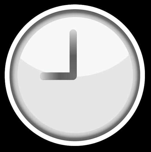 Clock Face Nine O Clock Clock Face Oclock Emoji Stickers