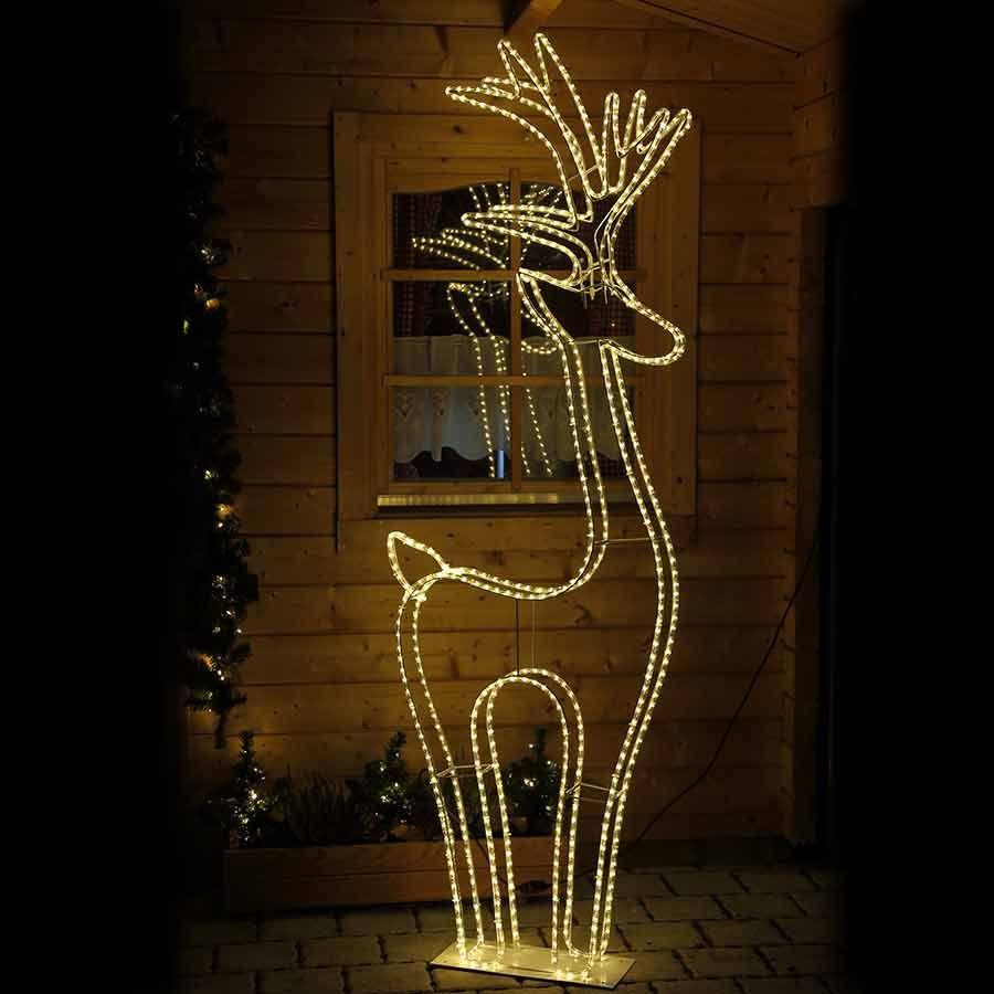 Rentier Beleuchtet Fur Innen Und Aussen Online Kaufen Weihnachtsbeleuchtung Beleuchten Led Rentier